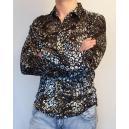 Пятнистая клубная рубашка фото