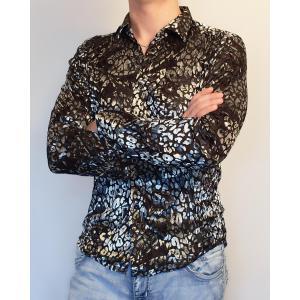 Пятнистая клубная рубашка