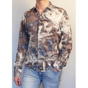 Модная рубашка с рисунками