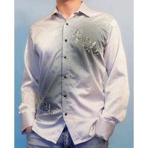 Белая рубашка с рисунком