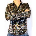 Модная рубашка с узорами фото