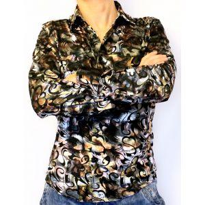 Модная рубашка с узорами