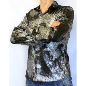 Черно-серая рубашка