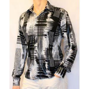 Casual рубашка с абстракциями