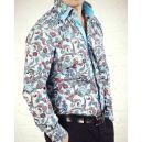 Стильная рубашка Venturo 8006-03